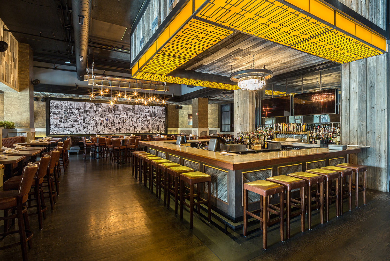 Interior Restaurant Photography Chicago Architecture