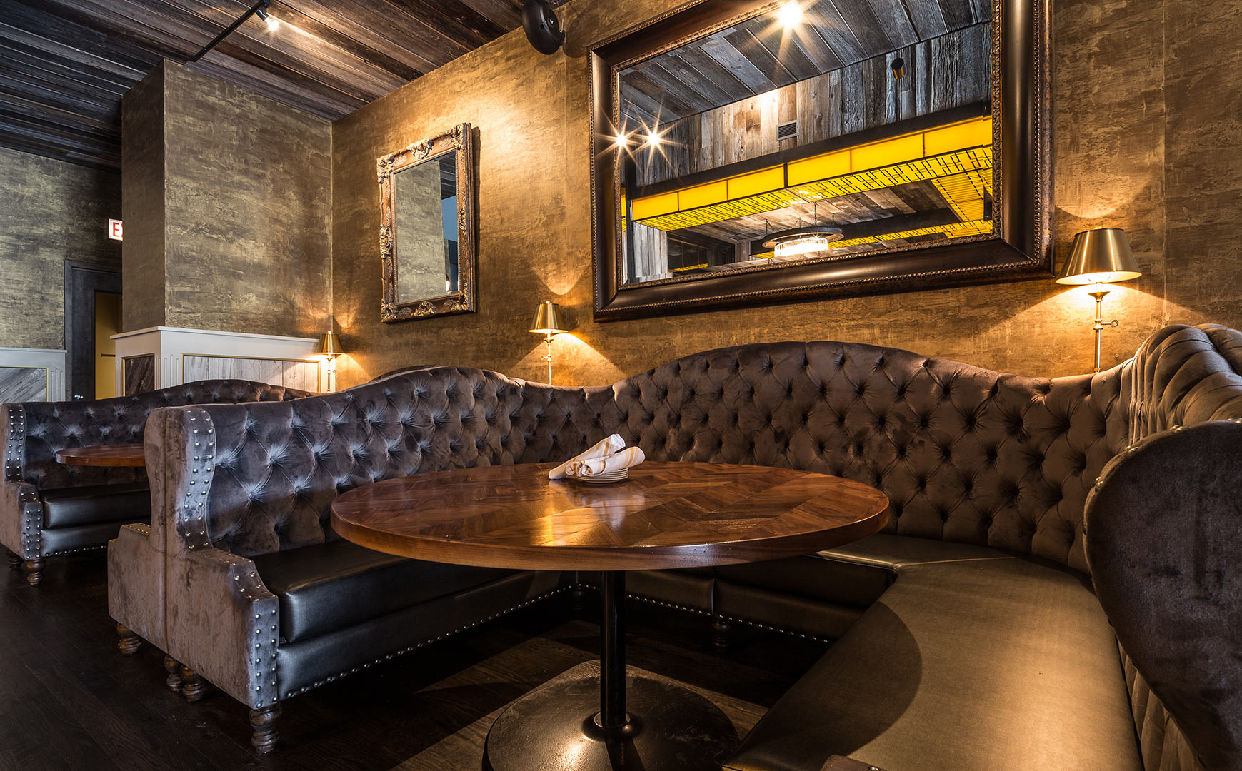 Interior restaurant photography chicago — architecture