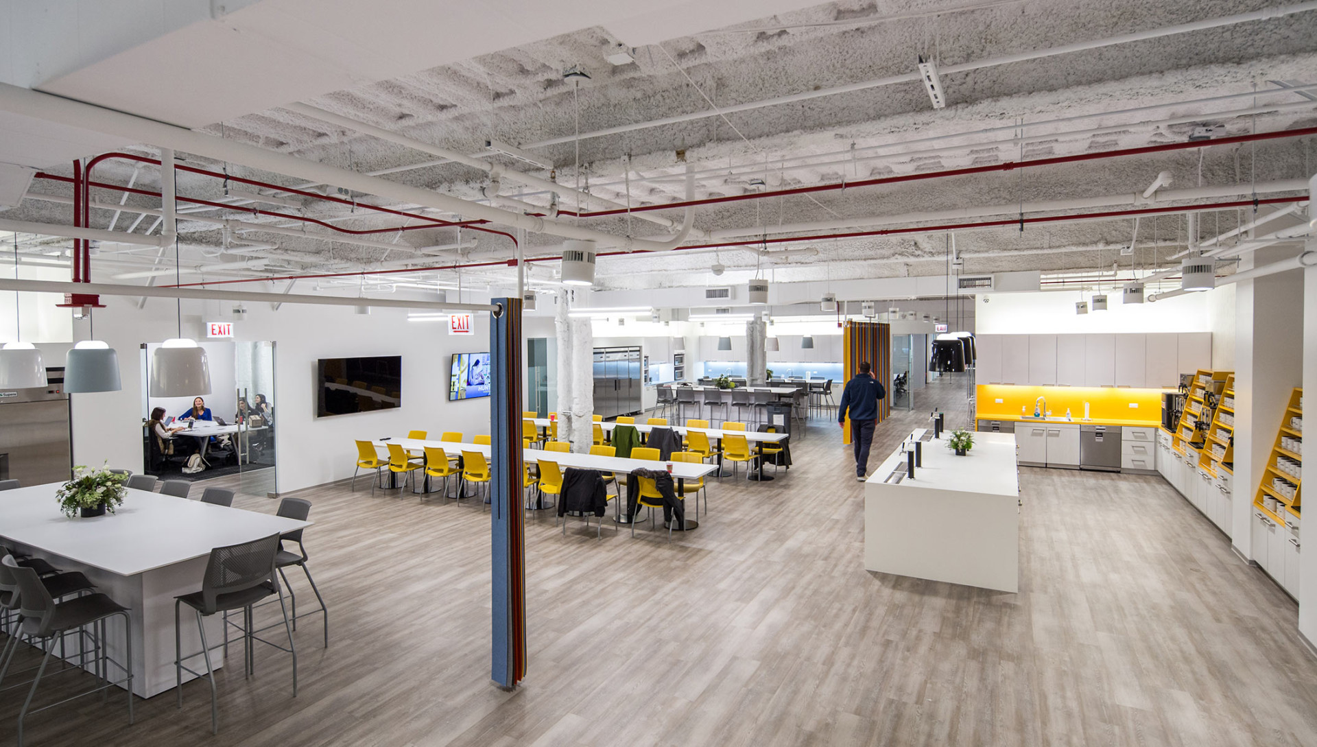 Uber offices make offices architecture photography for Office design northbrook il