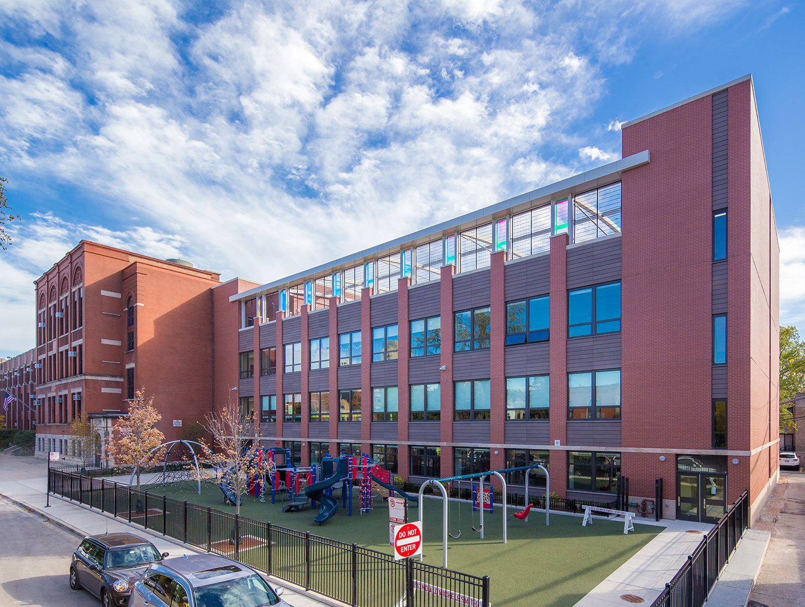 Abraham Lincoln School Chicago Architecture Photography Commercial Real Estate Photographer
